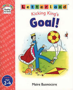 Letterland-Reading-At-Home-Stage-1-Kicking-King-s-Goal-Buonocore-Maire-Used