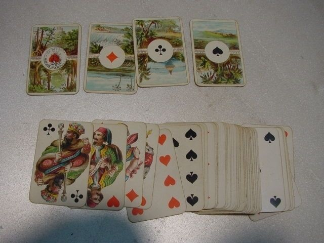 C367  Partience Karten N 27 mini Kartenspiel
