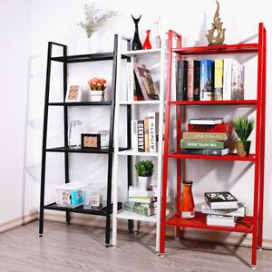 4-Tier-Metal-Ladder-Storage-Rack-Display-Stand-Shelving-Unit-Bathroom-Bedroom