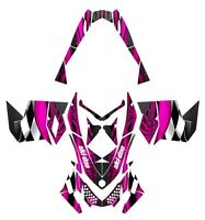 Ski Doo Rev Xp Graphics 2008 2012 Snowmobile Custom Wrap 3500 Hot Pink