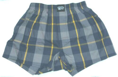 LOUSY LIVIN Lousy Check  Boxershorts//Unterhose lemon chrome kariert Herren NEU