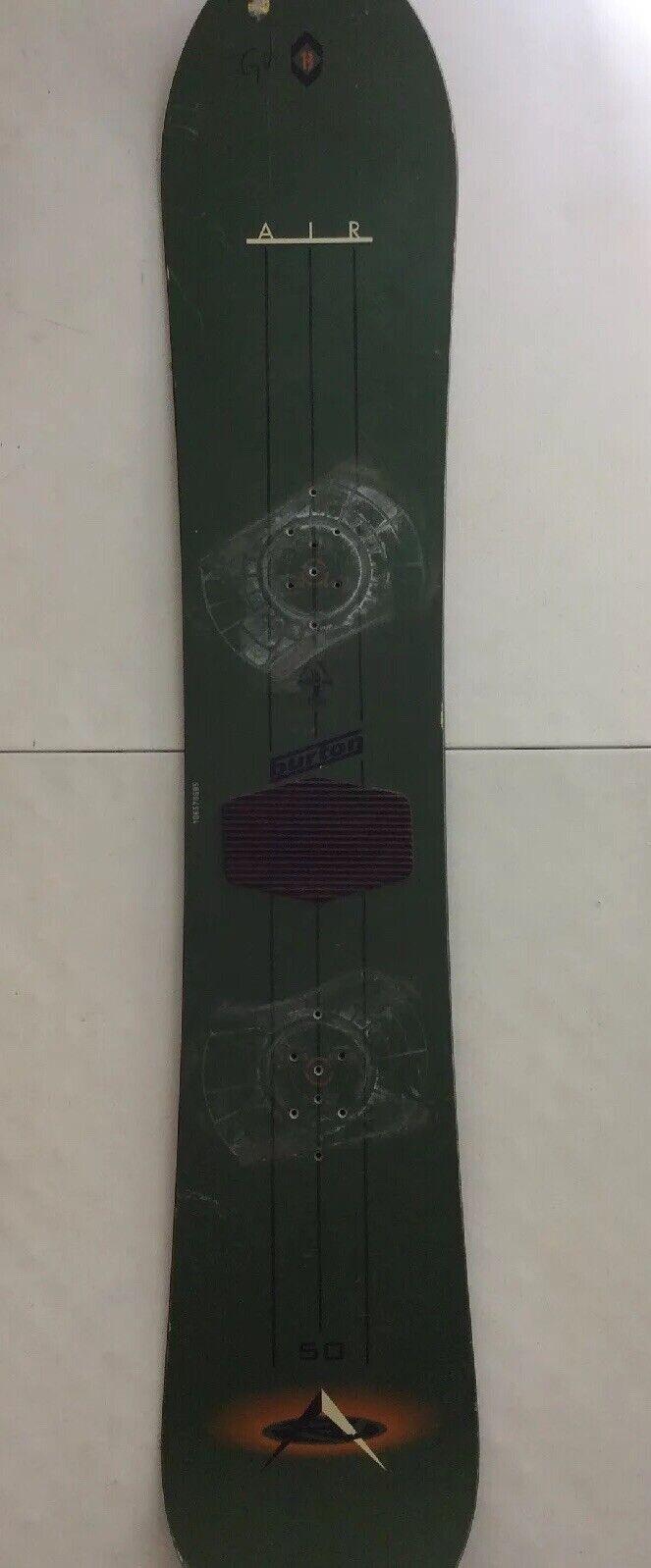 Burton Air 5 1 Snowboard 150cm breit Snowboard 150 50 Vintage Grün 1999's
