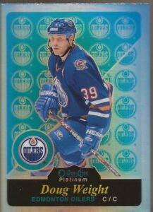 DOUG-WEIGHT-2015-16-OPC-Platinum-Retro-Rainbow-Legends-Edmonton-Oilers