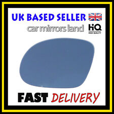PASSEGGERO Sinistro Ala Auto Specchio Vetro Blu Vauxhall Corsa C SRI 2001-2006 hagus