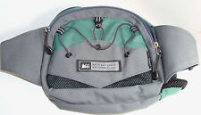 REI Fanny Pack Gray Green Bag Hiking Travel Camping Waist Day Cycling Running