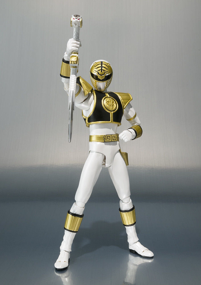 Bandai S.H Figuarts White White White Ranger Power Rangers Action Figure NEW 1c8779