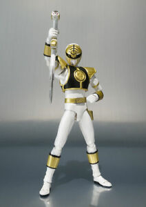 Bandai S.h Figurine Action Power Rangers - Ranger Blanc Nouveau