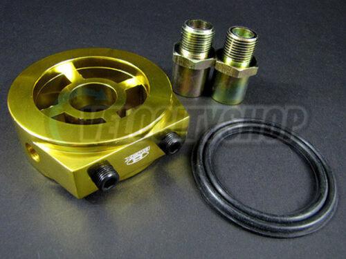 Blox Oil Filter Block Adapter Gold