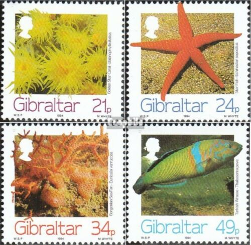 Gibraltar 696699 complete issue unmounted mint never hinged 1994 Seafood