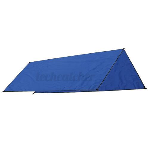Waterproof Tent Tarp Shelter Awning Sun Shade Camping Hammock Cover Lightweight