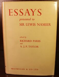 Details about Essays Presented to Sir Lewis Namier 1956 UK History  Diplomacy Foreign Policy