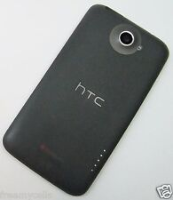 OEM AT&T HTC One X S720e PJ83100 Rear Battery Cover Door Housing + Power Button