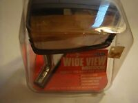 Roberk Delux Model 301 Right Side Vision Wide View Mirror - - Vintage 1980's