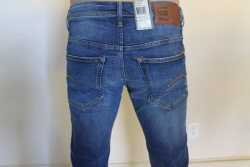 31 51002706089 Straight Fit Men/'s Jeans 30 NWT G-STAR RAW 3301 Art No