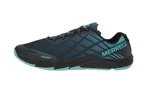 MERRELL Legion  J12555 BARE ACCESS FLEX Mn´s (M) Legion MERRELL Blau Mesh Trail Schuhes 770a51