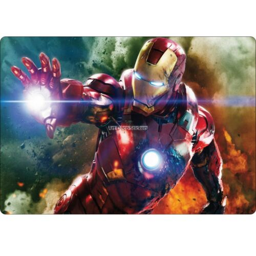 Sticker PC ordinateur portable Iron Man réf 16217 16217