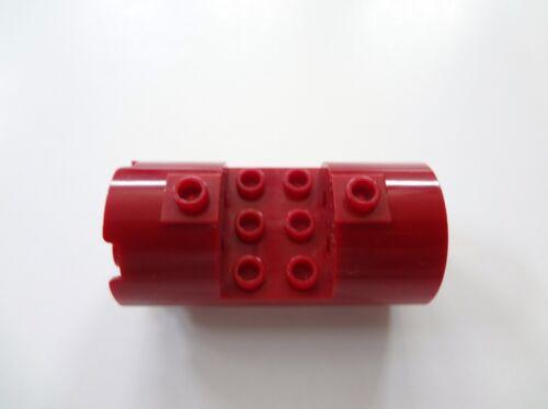 LEGO Bausteine & Bauzubehör Baukästen & Konstruktion Lego Dunkelrot 3x6x2 2/3 Zylinder Horizontal 6207 Star Wars