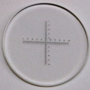 Microscope-Objective-Micrometer-Calibration-Slide-Reticle-Cross-Scale-0-1mm