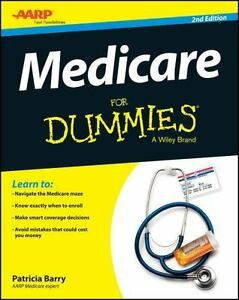 Medicare For Dummies 2nd Edition By Patricia Barry 2015 Paperback