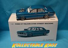 "1:18 Biante -Ford XY Falcon GTHO Street Machine ""Brute"" in Subzero Teal Metallic"