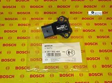 Audi Volkswagen Thrust MAP Boost Pressure Sensor - BOSCH 0281002401 - NEW OEM VW