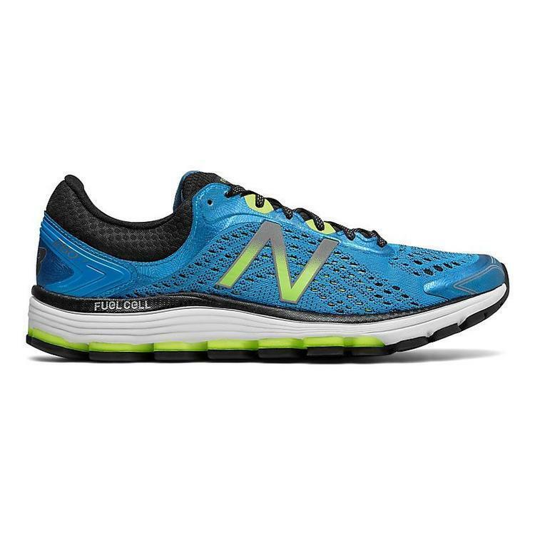 Para hombres 1260v7 distancia correr NEW BALANCE E estabilidad Azul verde M1260BG7