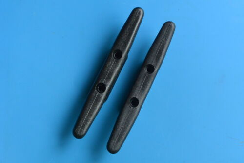 130mm 165mm 205mm 100mm Plastic Black Nylon Cleats 5 Sizes UV Stabilised
