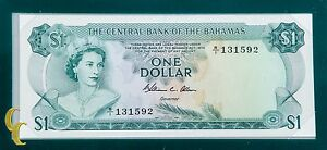 1974-1-The-Central-Bank-of-Bahamas-UNC-Condition-Banknotes-of-all-Nations