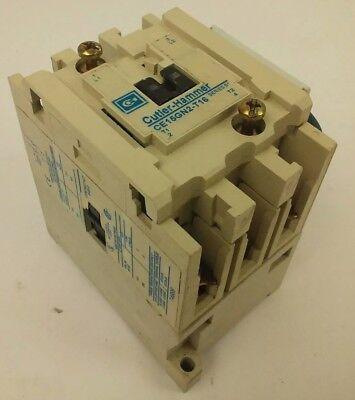 USED Cutler-Hammer AN16AN0 Motor Starter Ser.B1 18A 5HP 600V with C306DN3 Ser.A1