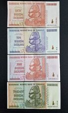 SET OF  5, 10, 20, 50 billion  Dollars Banknote Money Currency Note Bill