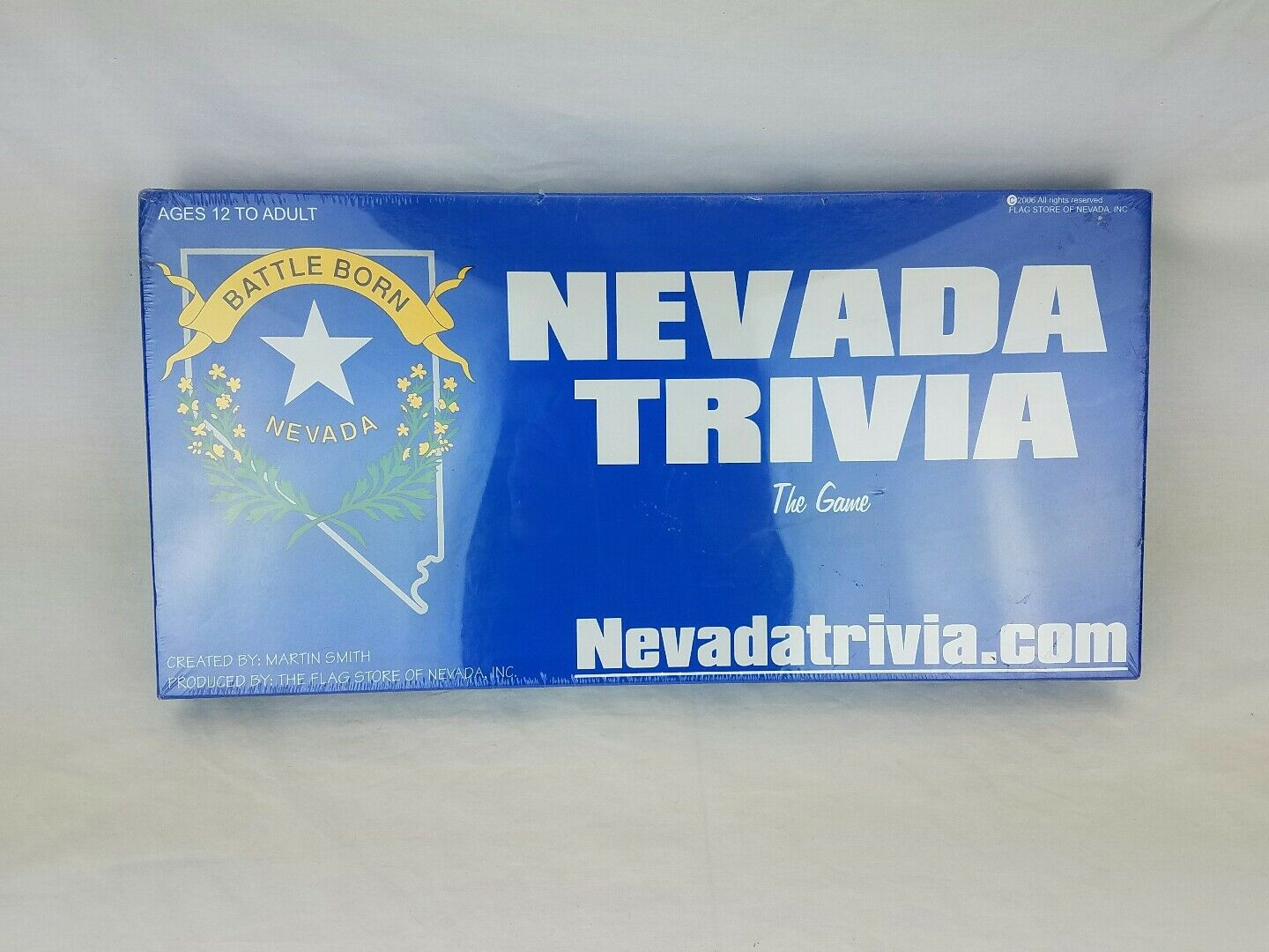 benvenuto per ordinare Nevada Trivia The gioco Martin Smith Flag Flag Flag Store  alta quaità