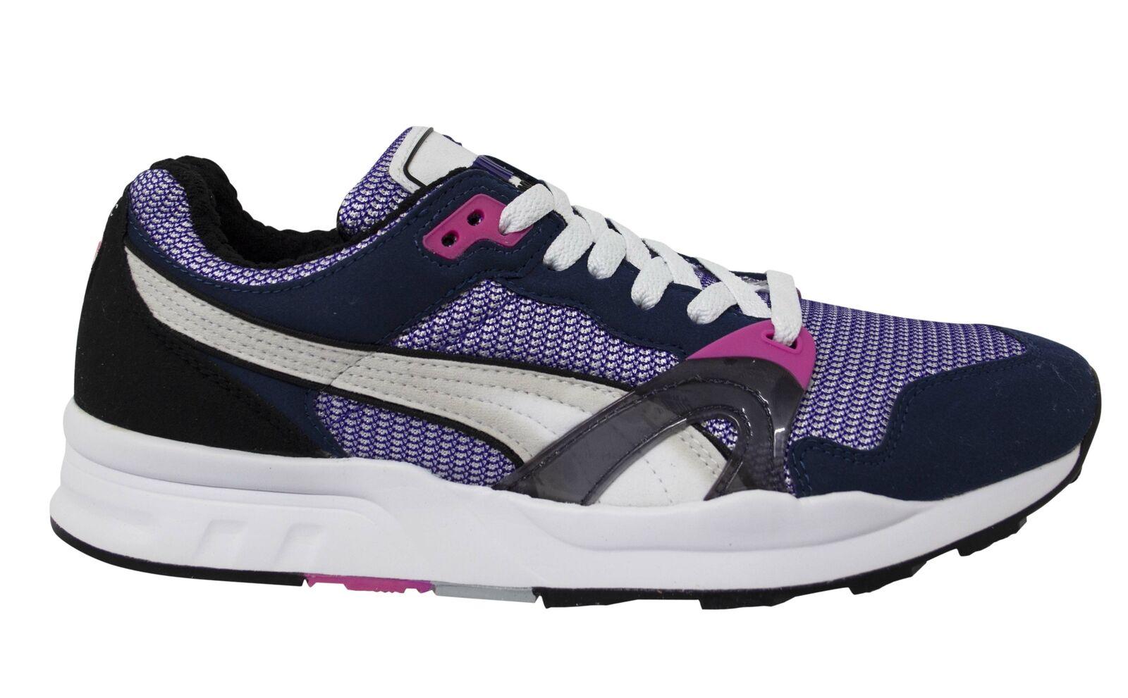 Puma Trinomic XT 1 Plus Blue Lace Up Mens Trainers Running Shoes 355867 07