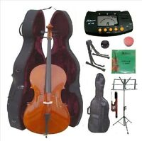 Merano Mc150 4/4 Size Cello With Hard Case With Bag And Accessories