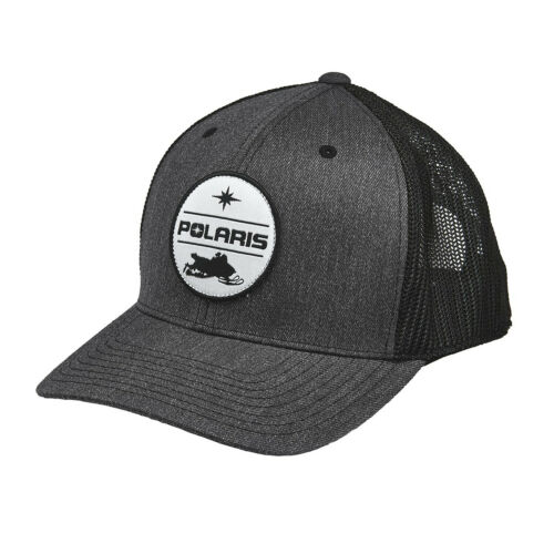 Gray//Black 2860594 Polaris Men/'s Snow Patch Hat