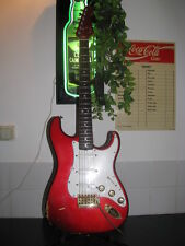 FENDER''THE STRAT 1980'' Candy Apple Red