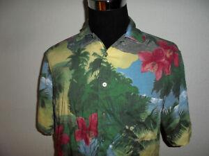 vintage CasaModa Hawaii Hemd hawaiihemd Viskose surfer hemd shirt 90s L