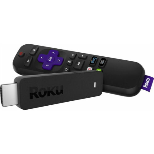 Remote Control /& Voice Search Roku 3800R Streaming Stick with 1080p Resolution