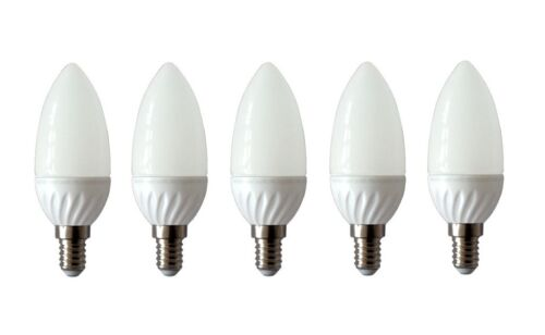 5er-Pack trendlights by toptrend DEL bougie e14 3 W = 25 W 3000k Warmwhite