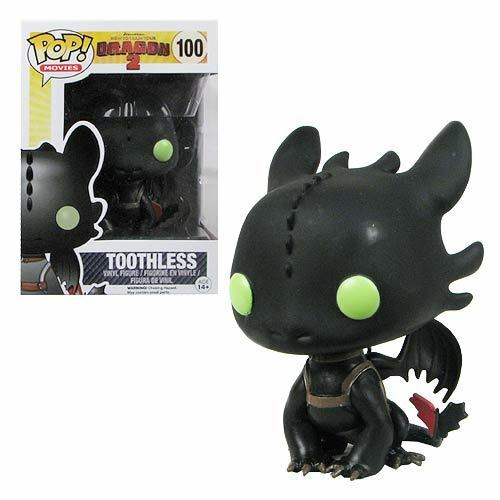 FUNKO POP TOOTHLESS 100 HOW TO TRAIN YOUR DRAGON TRAINER 2 SDENTATO FIGURE  1