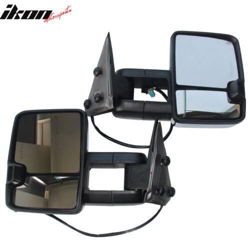 Fits 03-07 Silverado Towing Mirror Power Heat Signal Arrow Clearance Light