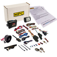 2-way Remote Start & Car Alarm Combo Includes Bypass Fits Select 2008-13 Nissan on sale