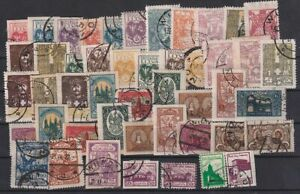 Middle (Central) Lithuania 1920-1922 Selection of 47 Used stamps