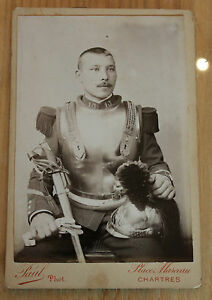 Ancienne-photo-militaire-un-cuirassier-grande-guerre-14-18