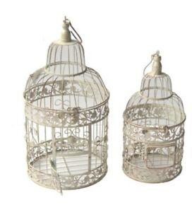 Metal-Bird-Cage-Vintage-Wedding-Hanging-Candles-Table-Settings-Gift-Garden-Cream