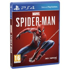 SPIDERMAN PS4 MARVEL'S SPIDER-MAN JUEGO FÍSICO PARA PLAYSTATION 4 DE INSOMNIAC