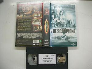 IL RE SCORPIONE 2002 VHS Italian