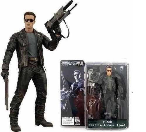 "ACTION FIGURE 7/"" IN  BOX NECA TERMINATOR 2// T-800 BATTLE ACROSS TIME 18 CM"