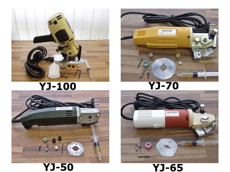 Ciseaux, elektroschere rundmesser sélection  50mm, 65mm, 70mm, 100mm