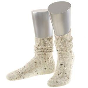 Trachtensocken-Shoppersocken-Tracht-Trachten-Socken-Struempfe-natur-tweed-NEU