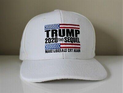 Donald Trump 2020 Make Liberals Cry Again Trucker Cap MAGA Hat